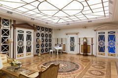 Mezhigirya residence of Yanukovich - stock photo