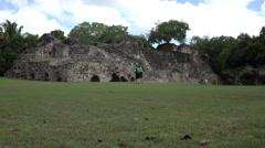 Costa Maya Kohunlich Mayan Ruins tourist 4K Stock Footage