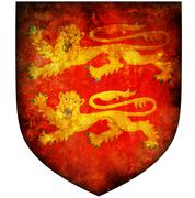 Basse normandie coat of arms Stock Illustration