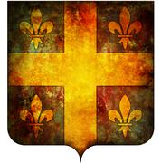 champagne coat of arms - stock illustration