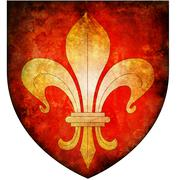 lille coat of arms - stock illustration