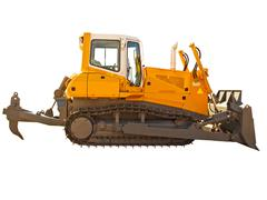 Powerful bulldozer Stock Photos