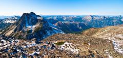 Canada, British Columbia, Illal peak - stock photo