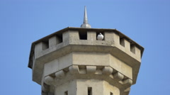 Tower of the National Museum of Unification from Alba Iulia - stock footage