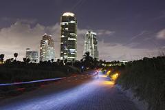 USA, Florida, Miami, Miami Beach, Pointe Parck walk Kuvituskuvat