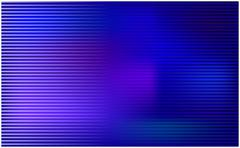 Blue horizontal stripe vector wallpaper. Abstract background illustration. - stock illustration