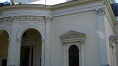 Collegiate Church st. Anne in Wilanow, Poland Stock Footage
