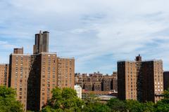 Condo Buildings in New York, USA Stock Photos