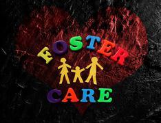 Foster Care heart Stock Photos