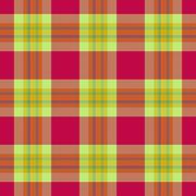 Colorful seamless tartan pattern - stock illustration