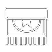Stock Illustration of Carpet icon design Illustration