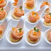 Stock Photo of Finger Food in Cocktail Party