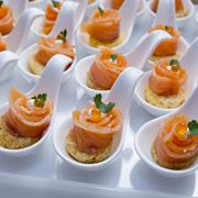 Finger Food in Cocktail Party - stock photo