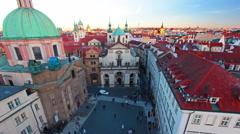 PRAGUE, CZECH REPUBLIC - November, 2015 Stock Footage