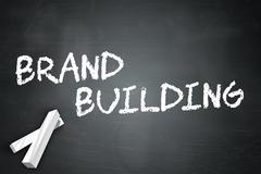 Stock Illustration of Blackboard Brand Building