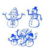 Set of about Christmas idea xmas design - stock illustration