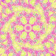 Seamless spiral pattern pink violet yellow Stock Illustration