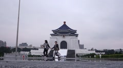 Chiang Kai-shek Memorial Hall Stock Footage