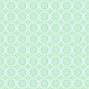 Seamless retro pattern pastel green Stock Illustration