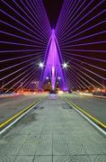 Sri Wawasan Bridge Putrajaya, Malaysia Stock Photos