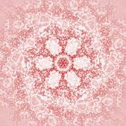 Seamless floral pattern pink Stock Illustration