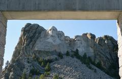 Mount Rushmore National Memorial, South Dakota, USA Stock Photos