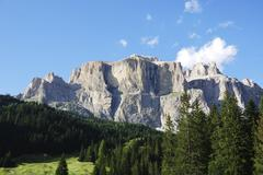 Stock Photo of Mountains in the dolomites