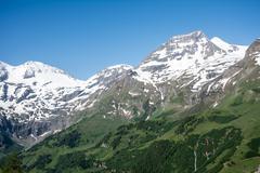 Hohe Tauern Mountain Range Stock Photos