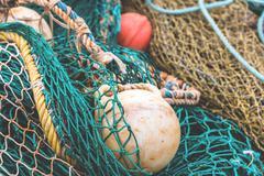 Fishing Net Detail Stock Photos