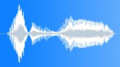 Cartoon nasal problem voice - sound effect