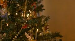 Christmas Tree 04 - stock footage
