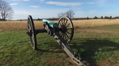 Civil War Battlefield at Manassas, Virginia Stock Footage