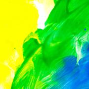 Abstract oil color. Multicolored. Stock Photos