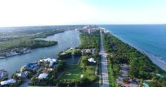Boca Raton Golf Course Stock Footage