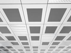 Suspended ceiling background - stock illustration