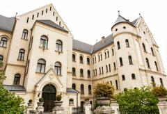 Theological college in Gyor, Hungary Stock Photos