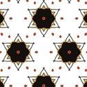 Stock Illustration of Children abstract ethnic pattern with bright