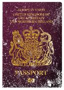 Stock Illustration of British Passport