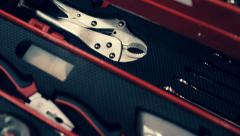A set of tools for repair - stock footage
