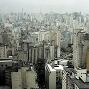 Sao Paulo skyline, Brazil Stock Photos