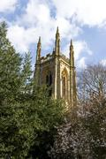 St Peters Church, Hampton Lucy, Warwickshire, UK Stock Photos