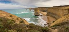 Twelve Apostles, Victoria, Australia - stock photo