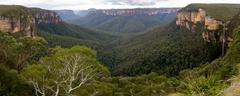 Blue Mountains, New South Wales, Australia Stock Photos