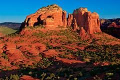 Cathedral Rock, Arizona, USA - stock photo