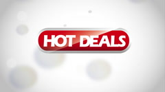 Hot deal design, Video Animation Stock Footage