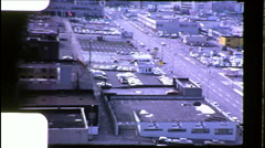 SEATTLE Denny Regrade Industrial Area Cityscape Vintage Film Home Movie 8690 Stock Footage