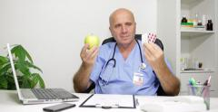 Doctor Advice Choose Medicine Drugs Fruits Pills Vitamins Health Care Prescribe Arkistovideo