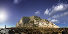 Lands End at Beachy Head, Eastbourne, East Sussex, UK - stock photo