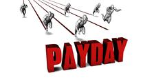 Better Payday - stock illustration