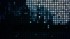 Light emitting diodes flicker with data - LED 012 HD, 4K Stock Footage